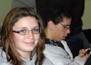 Haley and James