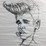Justin Beiber caricature by Bruce MacKinnon